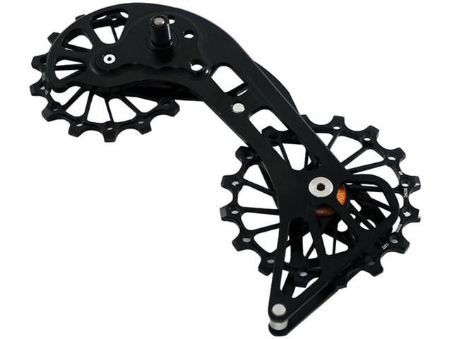 KCNC Jockey Wheel for MTB SRAM XX1 Eagle 14/16 Teeth Sus Bearing black